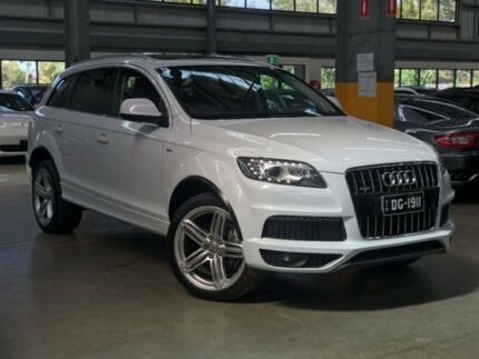 2013 Audi Q7 TDI Wagon 4dr Spts Auto 6sp Quattro 3.0DT White Sports Automatic Wagon