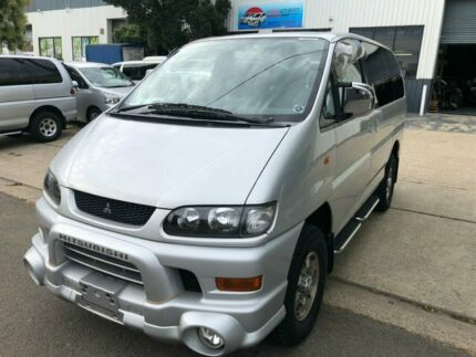 2004 Mitsubishi Delica LR Silver 4 Speed Automatic Wagon Kogarah Rockdale Area Preview