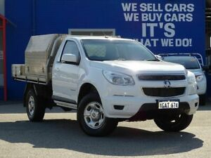 2016 Holden Colorado RG MY16 LS 4x2 White 6 Speed Sports Automatic Cab Chassis Welshpool Canning Area Preview
