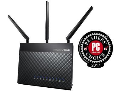 ASUS AC1900 Wi-Fi Dual-band 3x3 Gigabit Wireless Router with AiProtection Networ](asus rt ac68u deals)