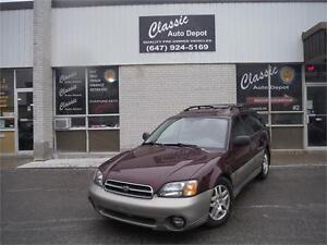 2001 Subaru Legacy Wagon Outback w/**MUST SEE**DRIVES GREAT**