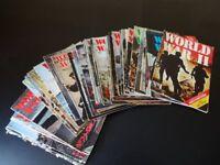 WW2 magazines by Orbis publishing.