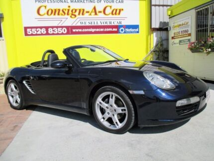 2006 Porsche Boxster 987 MY06 Midnight Blue 5 Speed Manual Convertible