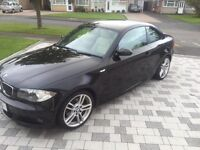 BMW 1 series diesel coupe 120d MSport 2dr manual