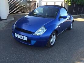 Ford Streetka 1.6 2003.5MY Luxury 82K ONLY