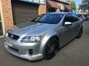2006 Holden Commodore VE SV6 Silver 5 Speed Automatic Sedan Campbelltown Campbelltown Area Preview