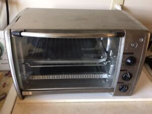 Stainless GE Toaster Convection Oven