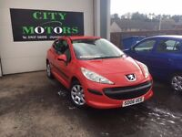 Peugeot 207 1.4, New MOT, Warranty, Great Condition, Low Miles