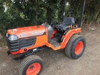 Kubota b1700 compact tractor