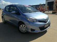 2014 Toyota Yaris NCP130R YR Blue 4 Speed Automatic Hatchback Garbutt Townsville City Preview
