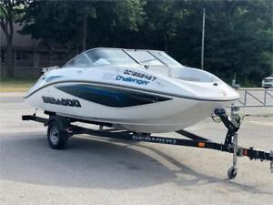 2008 Seadoo Challenger 180 215 Hp Supercharged **106 heures**