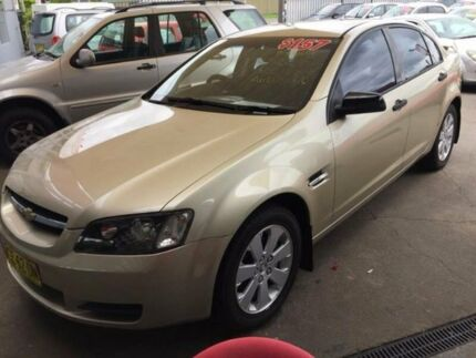 2007 Holden Commodore VE Omega Gold 4 Speed Automatic Sedan Holroyd Parramatta Area Preview