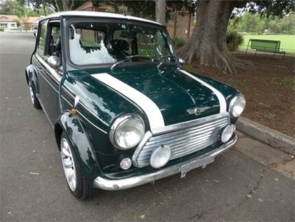 1999 Rover Mini Green Manual Burwood Burwood Area Preview