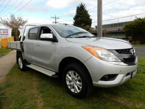 2015 Mazda BT-50 UP0YF1 XT 4x2 Hi-Rider Silver 6 Speed Sports Automatic Utility Moorabbin Kingston Area Preview