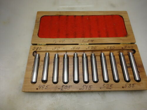 Original  bore gauge set (11 different size) to swedish mauser from FSR