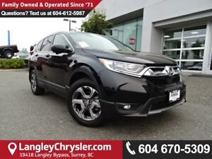 2017 Honda CR-V EX-L *ACCIDENT FREE*ONE OWNER*LOCAL BC SUV*