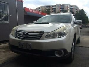 2010 Subaru Outback MY10 2.0D Premium (Sat-Nav) White 6 Speed Manual Wagon Braddon North Canberra Preview