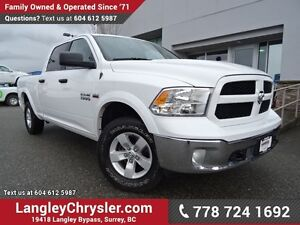2016 RAM 1500 SLT W/ 4X4, TOW PACKAGE & REAR-VIEW CAMERA