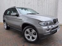 BMW X5 3.0 D Sport Auto, Diesel, Metallic Grey, Full Black Leather, Low Miles, Fabulous Example