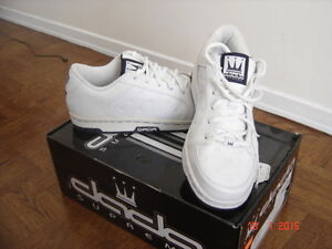 A brand new DADA shoes white&silver for men
