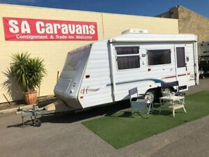 JAYCO HERITAGE 18' CARAVAN with AIR COND.. Klemzig Port Adelaide Area Preview