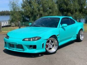 1999 Nissan Silvia S15 Spec R Teal 6 Speed Manual Coupe Lansvale Liverpool Area Preview