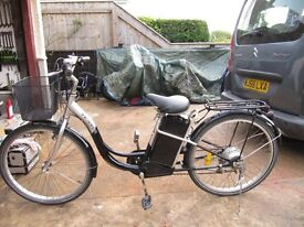 Ladies Electric Bicycle loverly condition