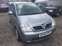 2004 Vauxhall Meriva, starts and drives well, MOT until March 2018, clean inside and out, car locate