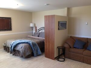 Fully furnished apt. in Airport Hgts.