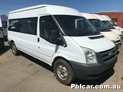2008 Ford Transit VM 125 minibus 12 seater White Manual