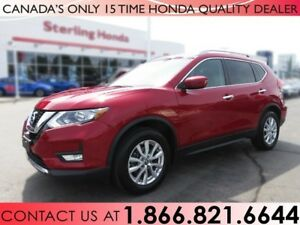 2017 Nissan Rogue SV | 1 OWNER | LOW KM'S