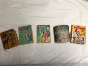 THE BIG LITTLE BOOKS - LOT OF 5 EACH AS IS
