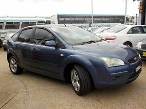 2006 Ford Focus LS LX Blue 5 Speed Manual Hatchback North St Marys Penrith Area Preview