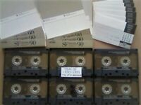 JL £16 & FP&P 6x TDK SF 90 SUPER FIDELITY CHROME CASSETTE TAPES 1990-1991 JOB LOT OR SOLO'S