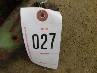 John Deere Cast Category Iii Quick Hitch Tag 027