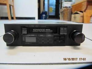 ClassicKenwoodKRC-2001 AM/FM HighpowerCasette CarStereo Cir1980s