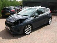 2014 Ford Fiesta 1.0 125ps EcoBoost Zetec S SALVAGE DAMAGED REPAIRABLE DRIVES