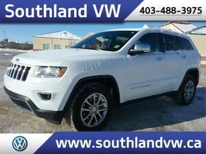 2014 Jeep Grand Cherokee Limited **LEATHER-SUNROOF-LOW KM**