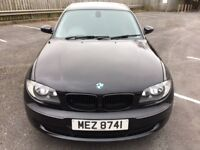 2007 BMW 1 Series 116i, Black, low mileage, well looked after, high spec, service history.