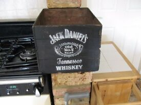 Jack Daniels drinks crate