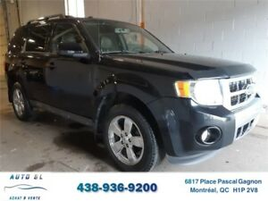 ***2009 FORD ESCAPE LIMITED***4 CYLINDRES/4X4/CUIR/TOIT/CHROME