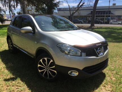 2013 Nissan Dualis J10W Series 4 MY13 Ti-L X-tronic AWD Silver 6 Speed Constant Variable Hatchback Hendon Charles Sturt Area Preview