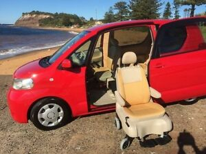 2006 Toyota Porte NNP10 SER NNP10 Red Automatic Wheelchair Transporter North Manly Manly Area Preview