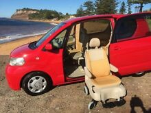 2006 Toyota Porte NNP10 SER NNP10 Red Automatic Wheelchair Transporter Brookvale Manly Area Preview