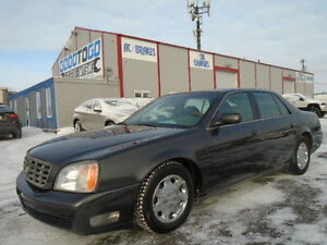 2001 Cadillac DeVille & DTS-4.6L V8 LUXURY PKG-LEATHER--CLEAN