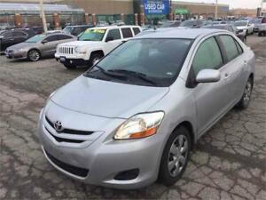 2008 Toyota Yaris-Low Kms-Gas Saver-CERTIFIED-