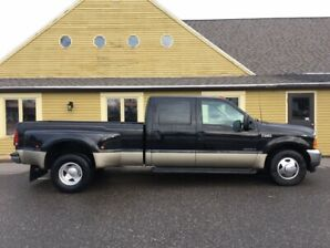 2001 FORD F350-DUALLY CREW-7.3 DIESEL-ONLY 162000KM