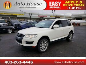 2009 Volkswagen Touareg 2 LEATHER SEATS SUNROOF HEATED SEATS