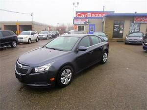 2013 CHEVROLET CRUZE LT TURBO BUY WITH EASY CAR FINANCE