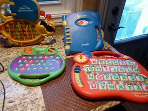 4 educational vtech and Leap Frog Pre-school toys